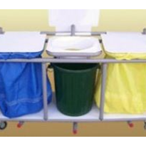 Laundry Trolley | Triple Bag