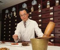 Professor Charlie Xue, Director of the Traditional and Complementary Medicine Research Program at RMIT's Health Innovations Research Institute.
