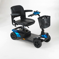 8kph 4 Wheel Mobility Scooter | Invacare Colibri