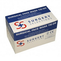 Tie-On Surgical Face Masks | Surgery Selections