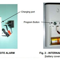 Remote Alarm with Rechargeable Battery | INVISA-BEAM®