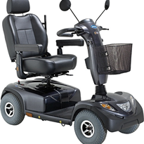 10kph 4 Wheel Mobility Scooter | Invacare Comet Alpine