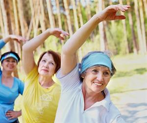 """Maintaining a certain level of fitness helps to prevent falls as we get older by keeping our muscles and bones strong."""