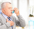 Deaths due to asthma peak in late winter for those aged 65 and over.