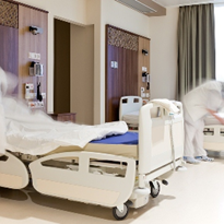 Why do medical practices need fabric bed linen?