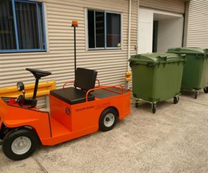Electric Wheelie Bin Mover