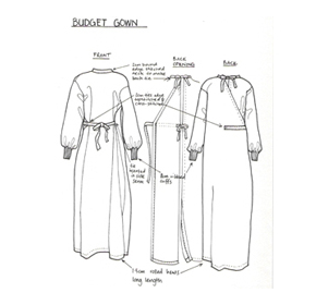 Hospital Gowns | F22 Budget Gown