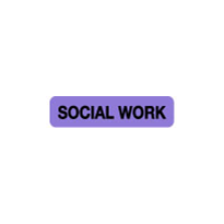 Allied Health Labels - Social Work