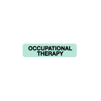 Allied Health Labels - Occupational Therapy