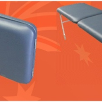 Folding Medical Examination Couch - Portable