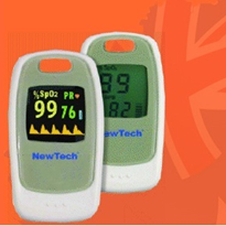 Fingertip Pulse Oximeter with SPO2 & Pulse Rate