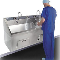 Stainless Steel Scrub Sinks