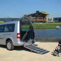 Wheelchair Accessible Vehicle - Volkswagon Caddy