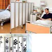 Folding Wall for Aged Care Homes & Medical Practices | Plexiglas