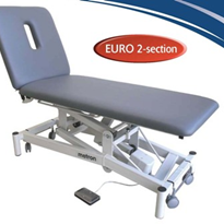 2 - Section Electric Examination Couch | Euro