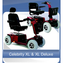Mobility Scooter | Celebrity XL & XL Deluxe