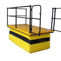 Scissor lift table solves Qld hospital's safety hazard