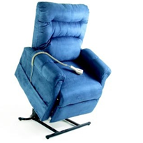 Infinite Position Lift Chair | C-6 - Custom Fabric Selections
