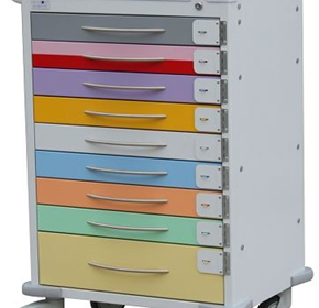 Quattro Paediatric Cart | Model 1655A