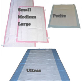 Absorbable Bed Covers | Pinkies