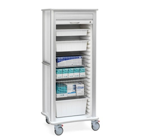 General Medical Supply Storage Carts | Solaire Medical Roam .25