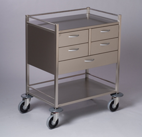 Resuscitation Trolley | 5 Drawer