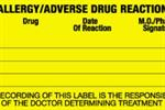 Allergy/Adverse Drug Reaction Labels - Medium