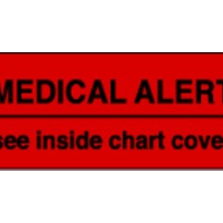 Medical Alert Labels