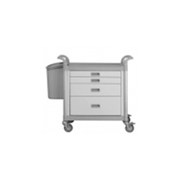 Functional Cart Medicine Trolley 4 Drawers